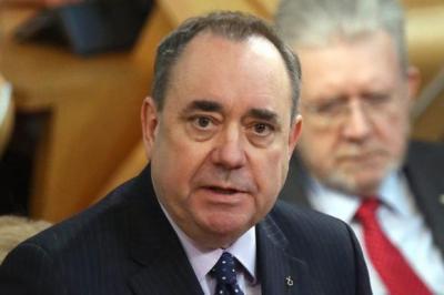 BACKING: Alex Salmond.