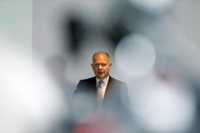 NO RUSH: Foreign Secretary William Hague seems in no hurry to secure agreement with European partners that would make EU membership more palatable to euro sceptics.         Picture: Colin Templeton