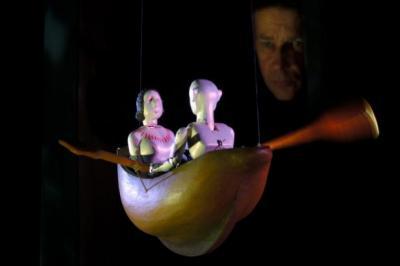 MAGICAL: Stephen Mottram creates wonderful illusions in Seas of Organillo.