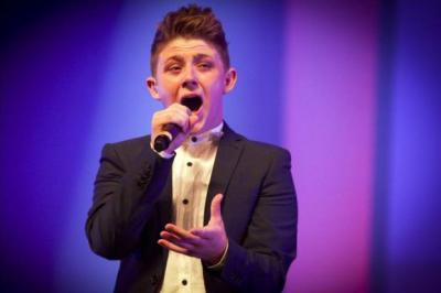 GLITTERING PRIZE: The star line-up at the awards ceremony included X Factor runner-up Nicholas McDonald. Picture: Phil Rider