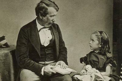 David Livingstone reading to his daughter Anna