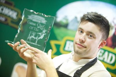 Orry Shand beat chefs from across the UK to win the award