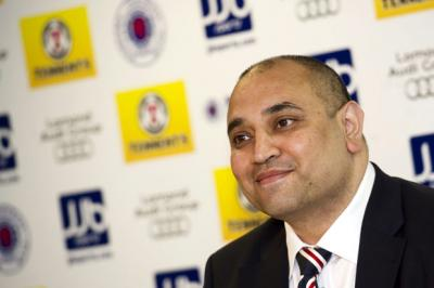 Former Rangers commercial director Imran Ahmad