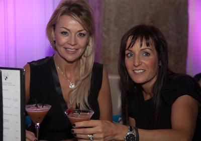 Irene McCloy, interior designer and Neil Lennon's partner with businesswoman Debbie Green