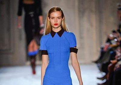 Victoria Beckham's autumn/winter 2012 collection is sleek and lady-like
