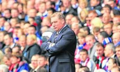 Rangers manager Ally McCoist says he is disappointed that the match has been called off at such short notice