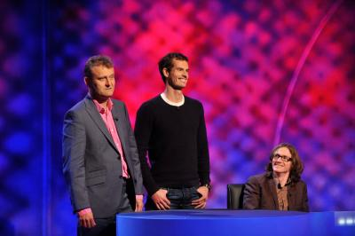 Andy Murray appeared in Mock the Week Sport Relief special