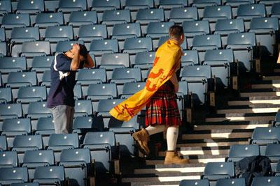 Despair in the ranks of the Tartan Army...again