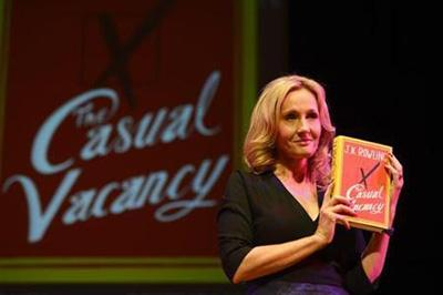 JK Rowling's first adult novel will be adapted into a drama for BBC1