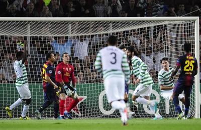 Samaras celebrates scoring the opener