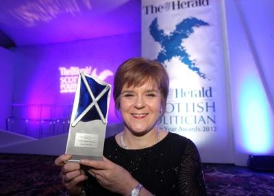 Nicola Sturgeon Pictures: Gordon Terris
